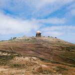 Spherical meteorological station on top of the mountain / Sphärische meteorologische Station auf den Berg thumbnail
