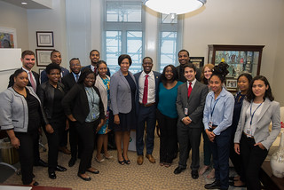 July 24, 2018 MMB meets with L.E.A.D program Interns