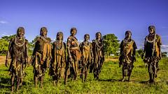 Ethiopia, primer contacto con las mujeres Hamer, cerca de Turmi (día 6) (pepoexpress - A few million thanks!) Tags: nikon nikkor d750 nikond75024120f4 nikond750 pepoexpress flickr hamer etnia africa turmi people funnypeople etniahamer ethiopia
