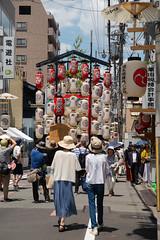 会所飾り (kasa51) Tags: feitival float lantern people street yama hoko sign kyoto japan 祇園祭 後祭 山鉾