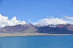 Lake Namtso and Nyenchen Tanghla Mountains, Tibet   (13) (Prof. Mortel) Tags: tibet lake namtso