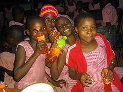 Celebration (Hanstoo) Tags: ghana pretty teens black teenagers celebration party enjoying girl girls schoolchildren
