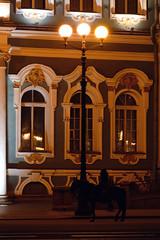 *** (donnicky) Tags: saintpetersburg artificialillumination building city horse night outdoor publicsec silhouette streetphotography streetlamp дворцоваяплощадь sanktpeterburg russia ru