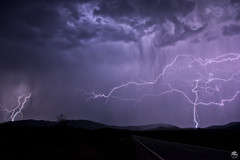 Above and Beyond (Steven Maguire Photography) Tags: lightning lightningstrike lightningbolt landscape monsoonstorms monsoon mountians mulemountian arizona cochisecounty clouds southwest stormchasing skyscape night nikond610