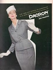 Dacron 1959 (barbiescanner) Tags: vintage retro fashion vintagefashion 50s 50sfashions 1950s 1950sfashions 1959 vogue vintagevogue vintageadvertising 50sadvertising 1950sadvertising dacron carmendellorefice
