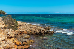 Mallorca Cala Bona (Uwe Weigel) Tags: mallorca summer mediterranen sun sea rock blue travel landscape seascape landscapephotography travelphotography mittelmeer sommer spain island photographer blau