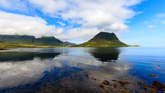 Across the bay (Pudsey) Tags: snæfellsnespeninsula kirkjufell grundarfjörður places iceland westernregion is