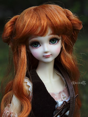Candy and Horse IV (BblinkK) Tags: mirodoll 14 candy msd bjd doll horse battat custom outfit
