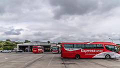 BUS EIREANN DEPOT AND BUS SHELTER [FERRYBANK WATERFORD]-142685 (infomatique) Tags: busgarage busshelter busstop cie publictransport buses trucks parking ferrybank waterford williammurphy infomatique fotonique sony a7riii bus