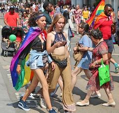 Pride in London 2018 (Waterford_Man) Tags: prideinlondon2018 bare phone lgbt lesbian gay bi trans people path girls pride