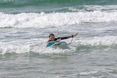 Sam and Stephen body surfing, Gwithian beach, Hayle, Cornwall (doublejeopardy) Tags: surfing gwithian beach william body wave cornwall hayle sea sam england unitedkingdom gb
