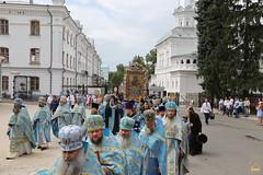 55. Святогорской иконы Божией Матери в Лавре 30.07.2018
