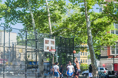 1358_0282FL (davidben33) Tags: brooklyn ny crown height summer 2018 park sport basketball people children 718 plaj joi trees bushes sporting field