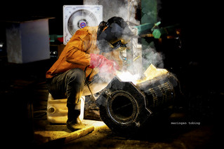 Iron Heat (Welder) #street #peples #humanity #weld #work #heating