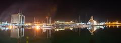 el puerto deportivo por la noche (josmanmelilla) Tags: nocturna melilla puerto mar noche agua barcos estrellas pwmelilla flickphotowalk pwdmelilla pwdemelilla