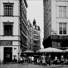Leipzig, Markt (reinirazzi) Tags: reinirazzi werra1tessar ilfordfp4 rodinal 125 leipzig markt