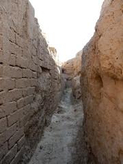 Restored and original mud bricks (Beth M527) Tags: unesco worldheritagesites ashgabat turkmenistan centralasia 2018 parthianfortressesofnisa antiquities ruins silkroad