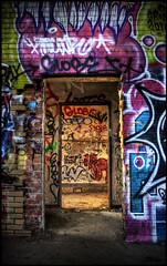Sun Shine (Explorer Tresspasser) Tags: hdr camp 30 abandoned decay sunlight rooms paint peeling urban exploring bowmanville ontario canada toronto dirty graffiti