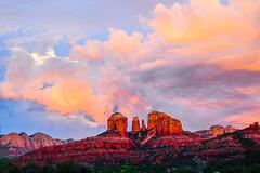Monsoon @Sedona (hy931) Tags: sedona redrock sunset arizona