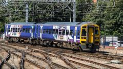 158794 (JOHN BRACE) Tags: 1992 brel derby built class 158 dmu 158794 seen leeds northern trains livery