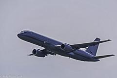 Royal New Zealand Air Force Boeing 757. (MWBee) Tags: rnzafboeing7572k2 royalnewzealandairforce boeing boeing7572k2 cosfordairshow2018 rafcosford airshow cosford mwbee nikon d750 sigma150600 nz7571 kiwi