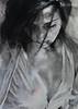 DSC_0694+web (jiri.metod) Tags: mixedmedia woman womanhair charcoal chalk conte acrylic girl monochrome paper portrait