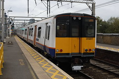 315817 (Rob390029) Tags: 315817 london overground class 315 bethnal green emu electric multiple unit train track tracks rail rails travel travelling transport transportation transit public railway station bet geml great eastern mainline