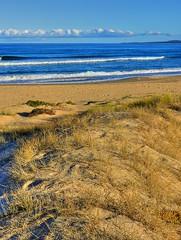 South Broulee beach I (elphweb) Tags: hdr highdynamicrange nsw australia seaside sea ocean water beach sand sandy wave waves