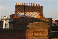 Wendy (Alex Ellison) Tags: wendy add ac rooftop trackside southlondon urban graffiti graff boobs