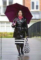 black and white 3 (Repgubbe) Tags: blackandwhite raincoat leopardprint stripes patternmixing 40blogger spring
