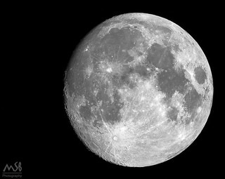 Waxing Gibbous Moon July2018