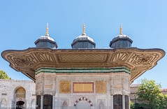 Istanbul - Fontaine d'Ahmed III (Darth Jipsu) Tags: ottoman unesco rococo fountain byzantine landmark topkapı ahmediii constantinople istanbul turkey europe turquie tr
