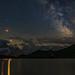 Blood Moon, Milky Way, and Mars at Bachsee v2