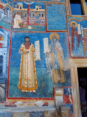 Fathers (rgrant_97) Tags: nia bucovina monastery voronets frescoes blue