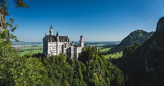 of a dreamer (johndifool) Tags: castle neuschwanstein landscape landschaft forest berg wald bayern schloss mountain