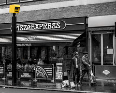 When they say Express, they really mean it (London Lights) Tags: londonlights whentheysayexpresstheyreallymeanit london lights londres londra streetscene monochrome blackandwhite noiretblanc