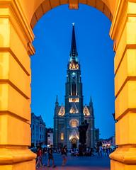 cathedral (popov sin) Tags: novisad church cathedral bluehour serbia srbija vojvodina