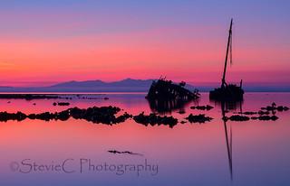 Sunset Shipwreck