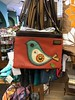 Stuff seen out and about the last few days (Lainey1) Tags: purse bird leather craft lainey1 elainedudzinski sewn chala tempe arizona changinghands bookstore