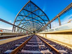 2018-05-26 Auf die Gleise geraten - Bahnstation Elbbrücken (timobohnenkamp) Tags: aufnahmesituation hafencity hamburg orte shooting thema ubahn deutschland de