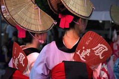 Summer Festival Ladies, Tokyo, Japan (runslikethewind83) Tags: japan tokyo asia culture festival woman lady dress tradition fan pentax