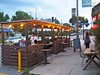 P1010371 (Minneapolis Public Works Streets) Tags: parklet northeast 13th ave ne commercial street cafe dusk placemaking