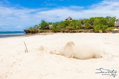 Feel the soft, powdery white sand between your toes! #tropical #island #holiday #whyilovekenya