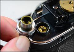 Certo Dollina II Repair Notes (07) (Hans Kerensky) Tags: certo dollina ii rangefinder folder repair removed rewind knob