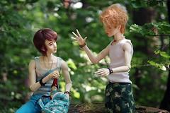 piwko w lesie (niebieski_kot) Tags: ranmaru rosengarden rui iosbody dollegendhands jasiek youpladolls zenji ringdollhands