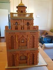 Arabian Modular MOC Side View 3 (Sam M Sheppard) Tags: lego modular moc building arabian middle eastern