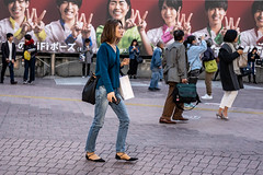 To The Point (burnt dirt) Tags: asian japan tokyo shibuya station streetphotography documentary candid portrait fujifilm xt1 laugh smile cute sexy latina young girl woman japanese korean thai dress skirt shorts jeans jacket leather pants boots heels stilettos bra stockings tights yogapants leggings couple lovers friends longhair shorthair ponytail cellphone glasses sunglasses blonde brunette redhead tattoo model train bus busstation metro city town downtown sidewalk pretty beautiful selfie fashion pregnant sweater people person costume cosplay boobs