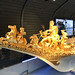 Golden bow on royal riverboat
