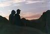 Bill and Noah Sunset (wrenee.com) Tags: 1600 2018 35mm film camping contax contaxn1 damaged desert fuji1600 california joshuatree damagedfilm