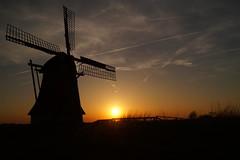 DSC08185 (omeharm) Tags: ryptsjerksterpolder molen mill dutch holland sunset zonsondergang